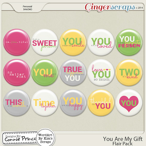 You Are My Gift - Flair Pack