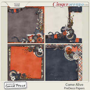 Retiring Soon - Come Alive - PreDeco Papers