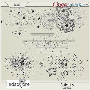 Suit Up Scatterz by Lindsay Jane