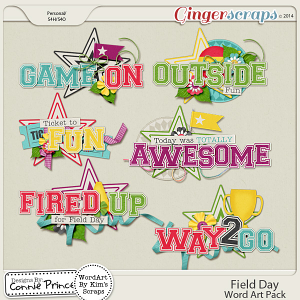 Field Day - WordArt