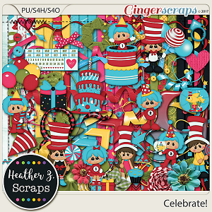 Celebrate! KIT by Heather Z Scraps