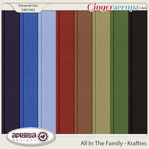 All In The Family - Krafties by Aprilisa Designs
