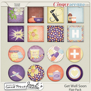 Retiring Soon - Get Well Soon - Flair Pack
