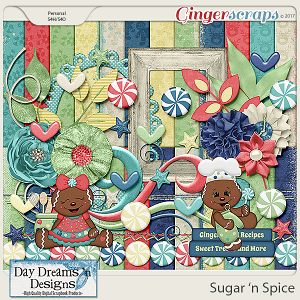 Sugar 'n Spice {Mini Kit Add-on} by Day Dreams 'n Designs