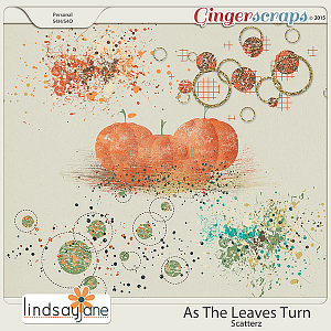 As The Leaves Turn Scatterz by Lindsay Jane