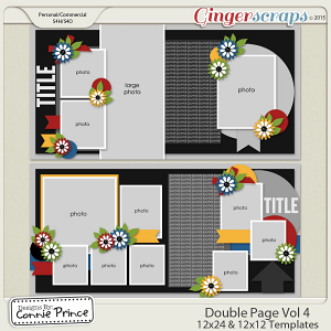 Double Page Volume 4 - 12x12 Temps (CU Ok)