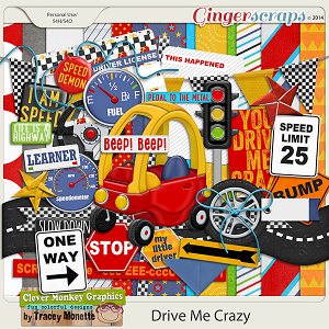 Drive Me Crazy by Clever Monkey Graphics