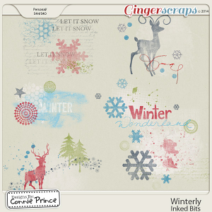 Winterly - Inked Bits