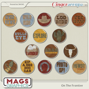 On The Frontier FLAIR by MagsGraphics