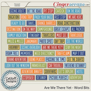 Are We There Yet - Word Bits