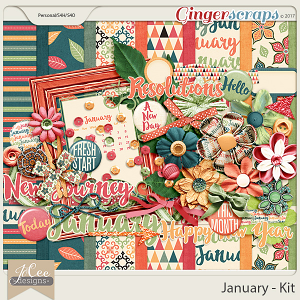 January Digital Kit