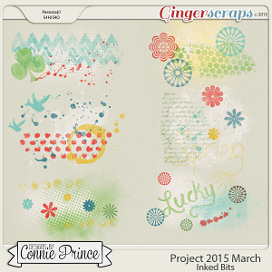 Project 2015 March - Inked Bits