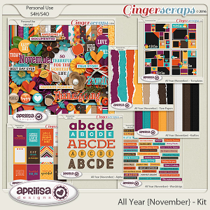 All Year {November} - Bundle