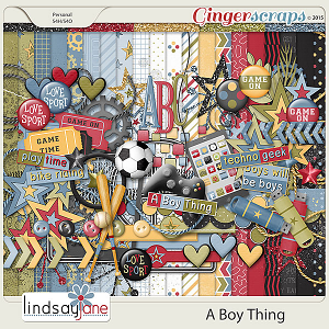 A Boy Thing by Lindsay Jane