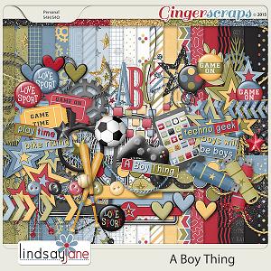 A Boy Thing by Lindsay Jane