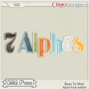 Boys To Men - Alpha Pack AddOn
