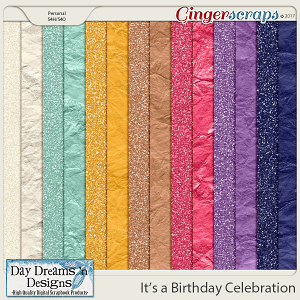 It's a Birthday Celebration {Glitters} by Day Dreams 'n Designs