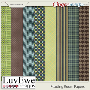 Reading Room Paper Pack