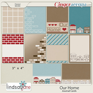 Our Home Journal Cards by Lindsay Jane