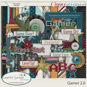Gamer 2.0 - Page Kit