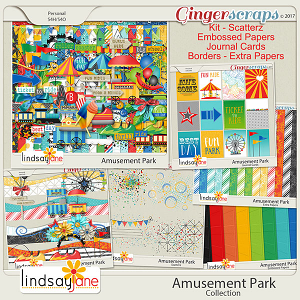 Amusement Park Collection by Lindsay Jane