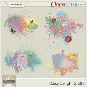 Daisy Delight Graffiti