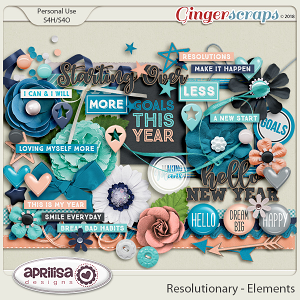 Resolutionary - Elements by Aprilisa Designs