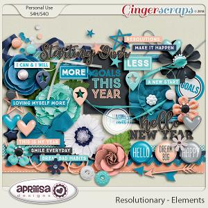 Resolutionary - Elements by Aprilisa Designs