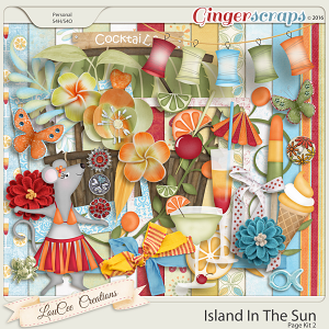 Island In The Sun Page Kit 2