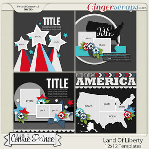 Land Of Liberty - 12x12 Temps (CU Ok)