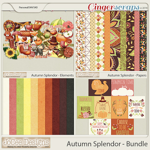 Autumn Splendor Bundle by JoCee Designs