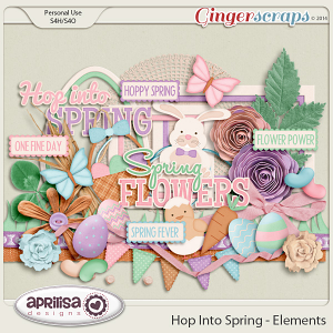 Hop Into Spring - Elements by Aprilisa Designs