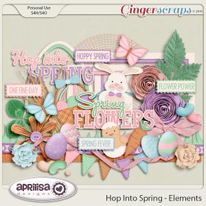 Hop Into Spring - Elements by Aprilisa Designs
