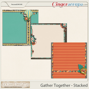 Gather Together - Stacked Papers