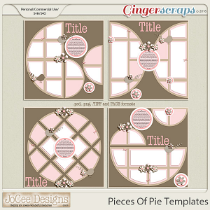 Pieces Of Pie Templates