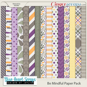 Be Mindful Paper Pack