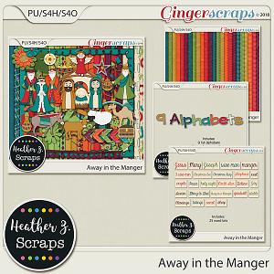 Away in a Manger BUNDLE by Heather Z Scraps
