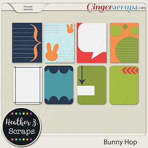 Bunny Hop {Journal Cards}