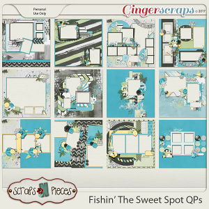 Fishin' The Sweet Spot Quick Pages