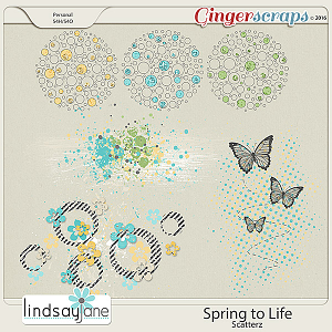 Spring to Life Scatterz by Lindsay Jane