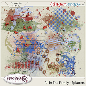 All In The Family - Splatters by Aprilisa Designs