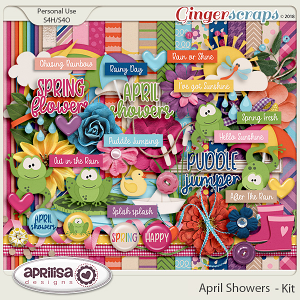 April Showers - Kit by Aprilisa Designs