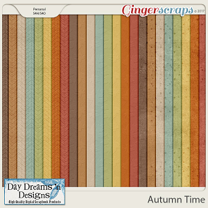 Autumn Time {Extra Papers} by Day Dreams 'n Designs