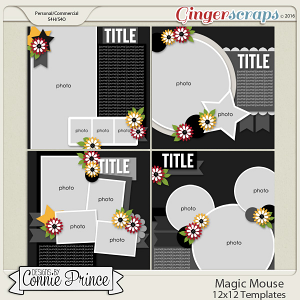 Magic Mouse - 12x12 Templates (CU Ok)