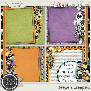 Jeepers Creepers Stacked Backgrounds