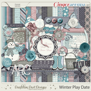 Winter Play Date By Dandelion Dust Designs