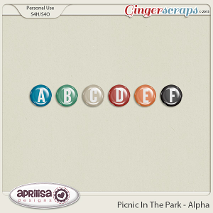 Picnic In The Park - Alpha by Aprilisa Designs