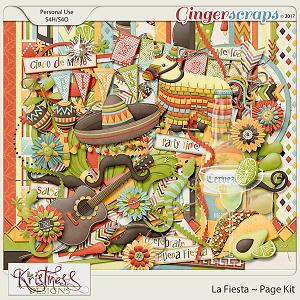La Fiesta Page Kit