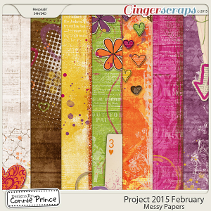 Project 2015 February - Messy Paper Pack