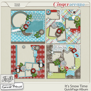It's Snow Time - QuickPage Album